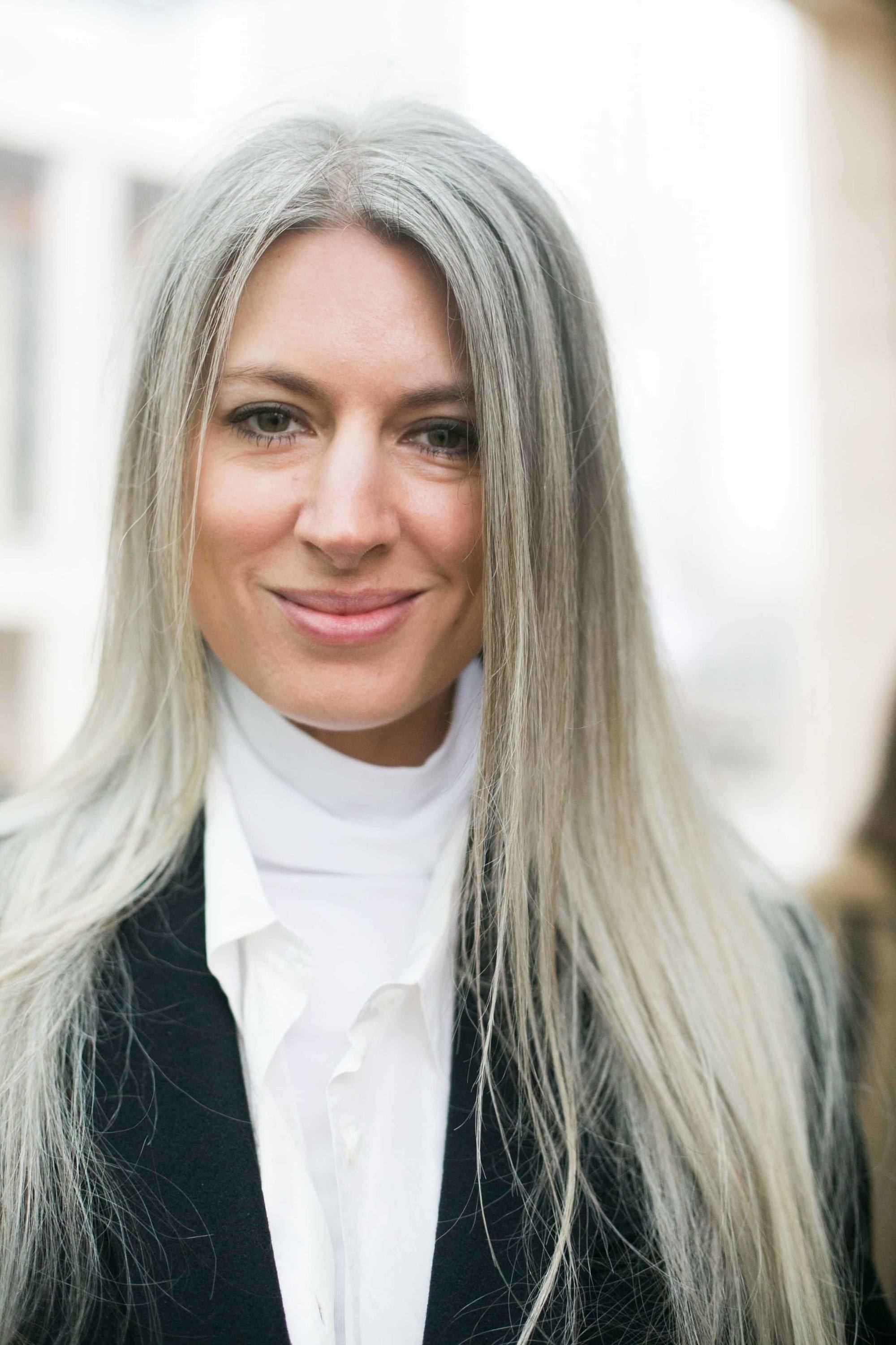 Silver Hair Color 14 Fresh Ways To Wear The Look