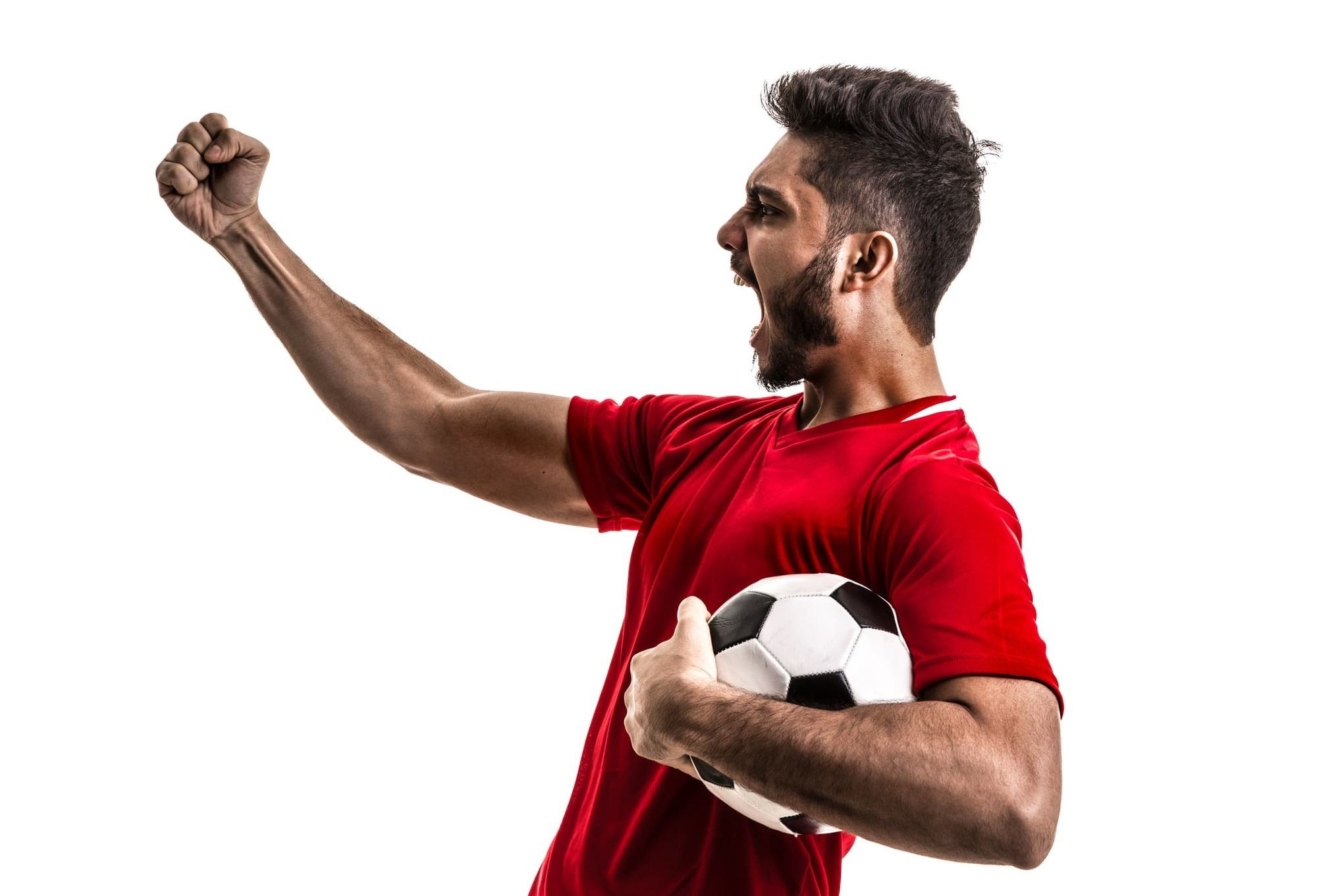 soccer hairstyles spiked up beard