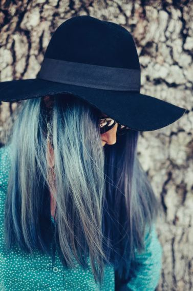 holographic hair ultraviolet
