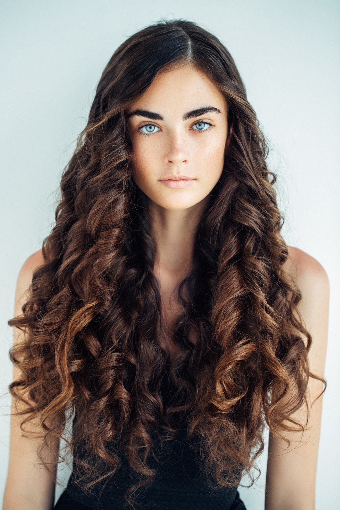 Amazing Curly Hairstyles For Long Hair Tight Curls Ringlets