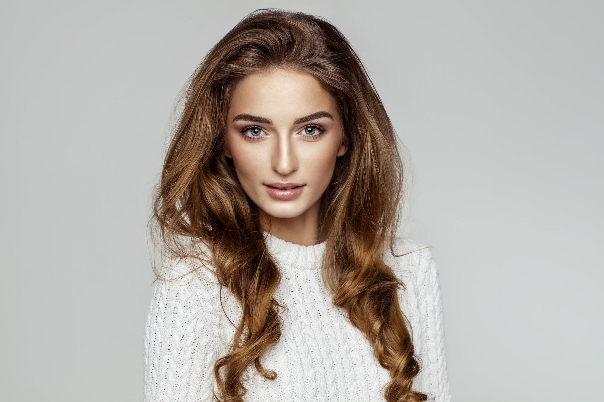 Curly Hairstyles For Long Hair Tousled Curls