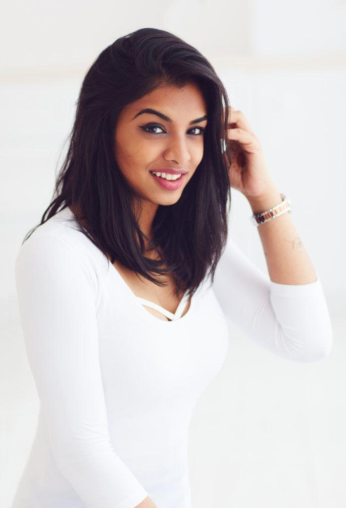 Indian wedding hairstyles angled lob