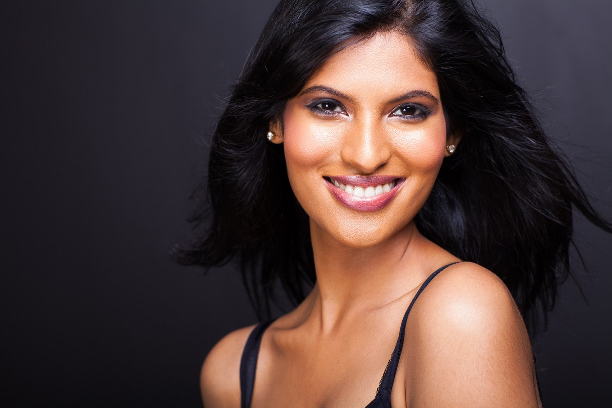 indian wedding hairstyles loose layers