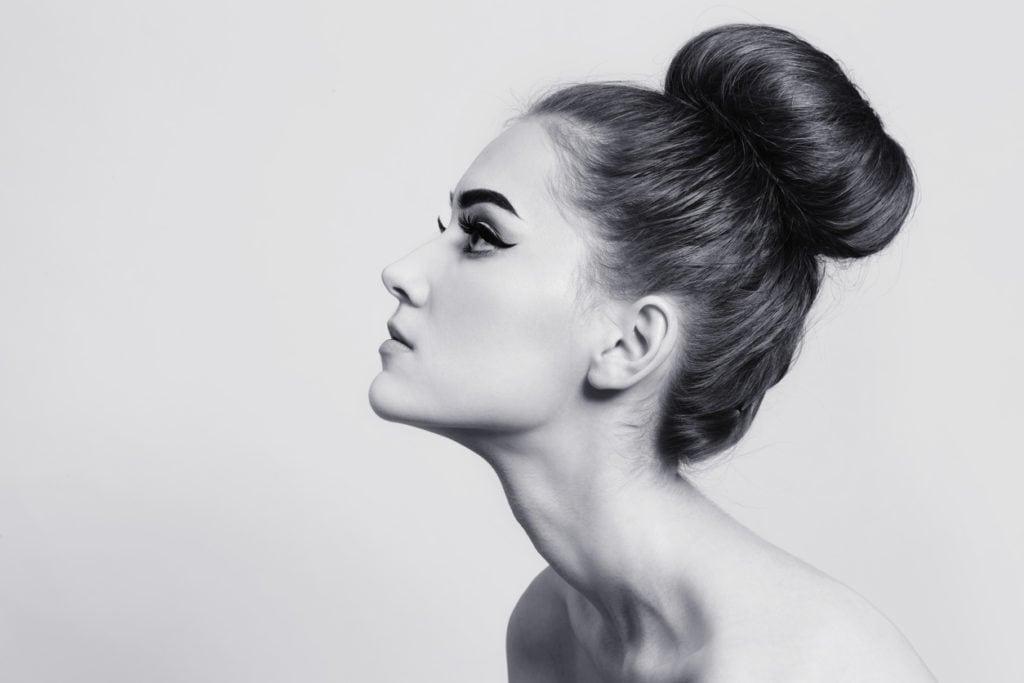 prom updos for long hair balerina bun