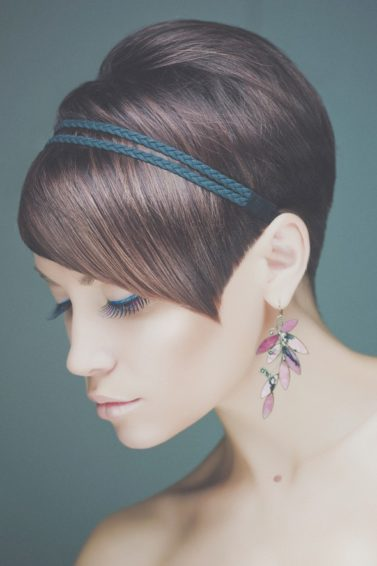classy short haircuts side swept pixie