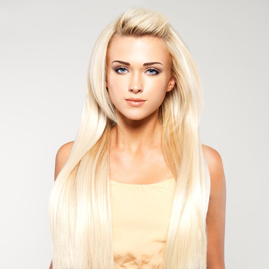 hairstyles for long blonde hair poof