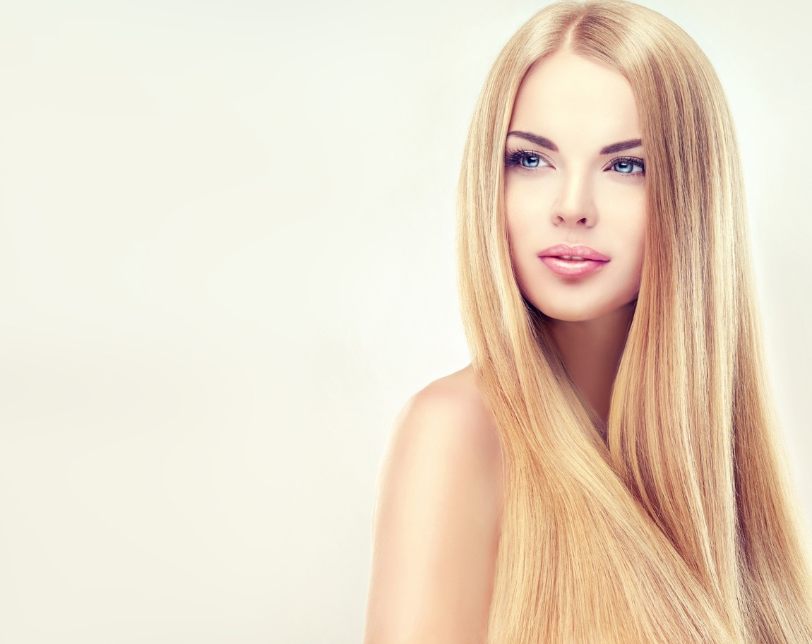 hairstyles for long blonde hair straight