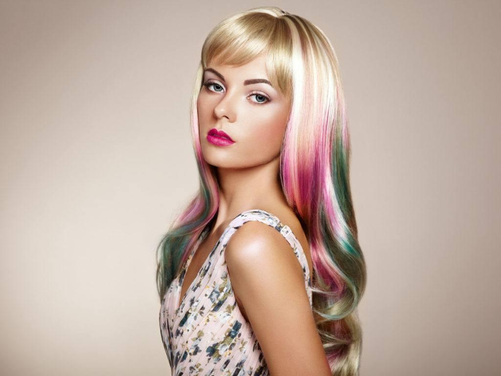 dark ombré hair inversted pastel