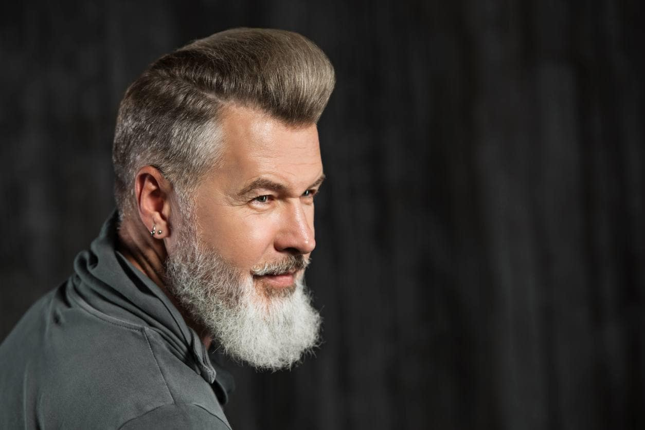 mens gray hair styles mens grey hairstyles 10 ways to rock that salt amp pepper vibe 7701