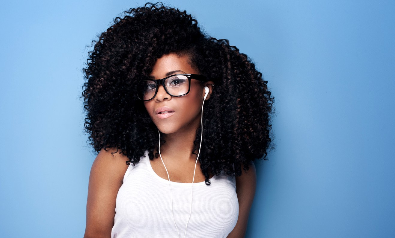 sew-in hairstyles: big curls