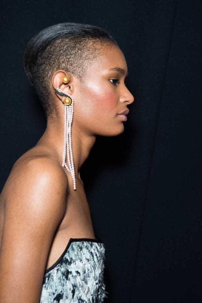 shaved hairstyles for black women: pixie undercut