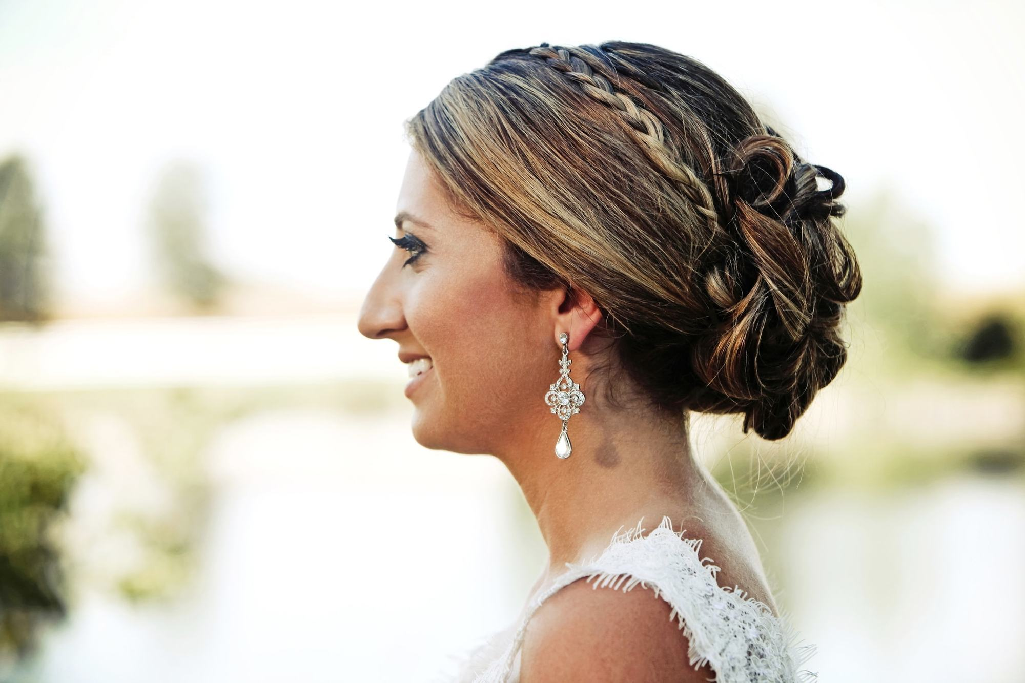 wedding hairstyles for long hair braided updo