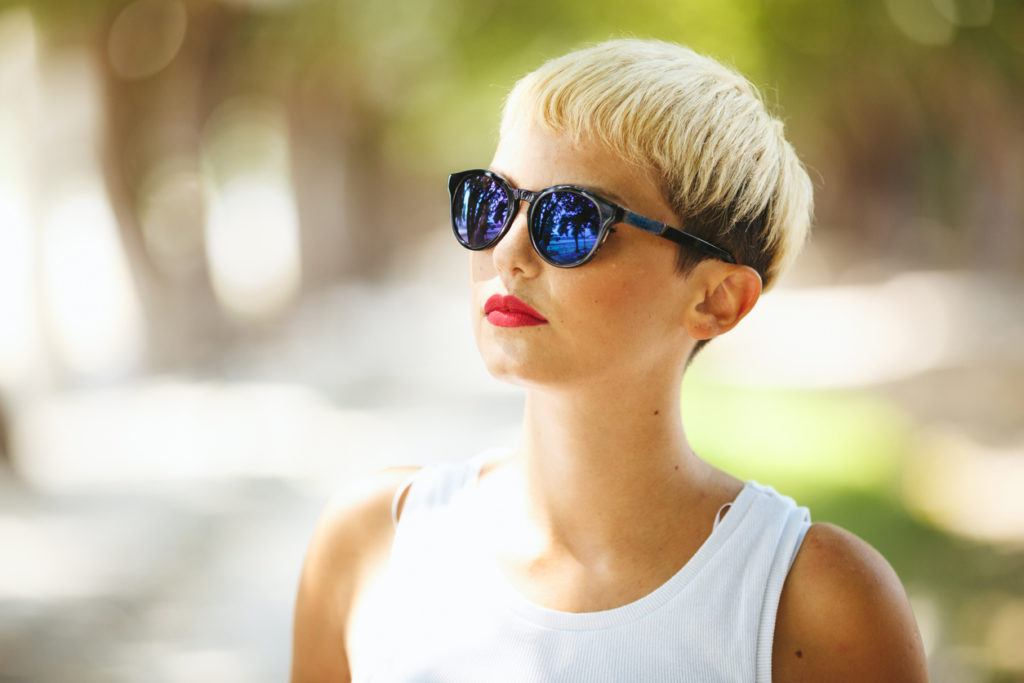 short hairstyles for square faces overgrown pixie