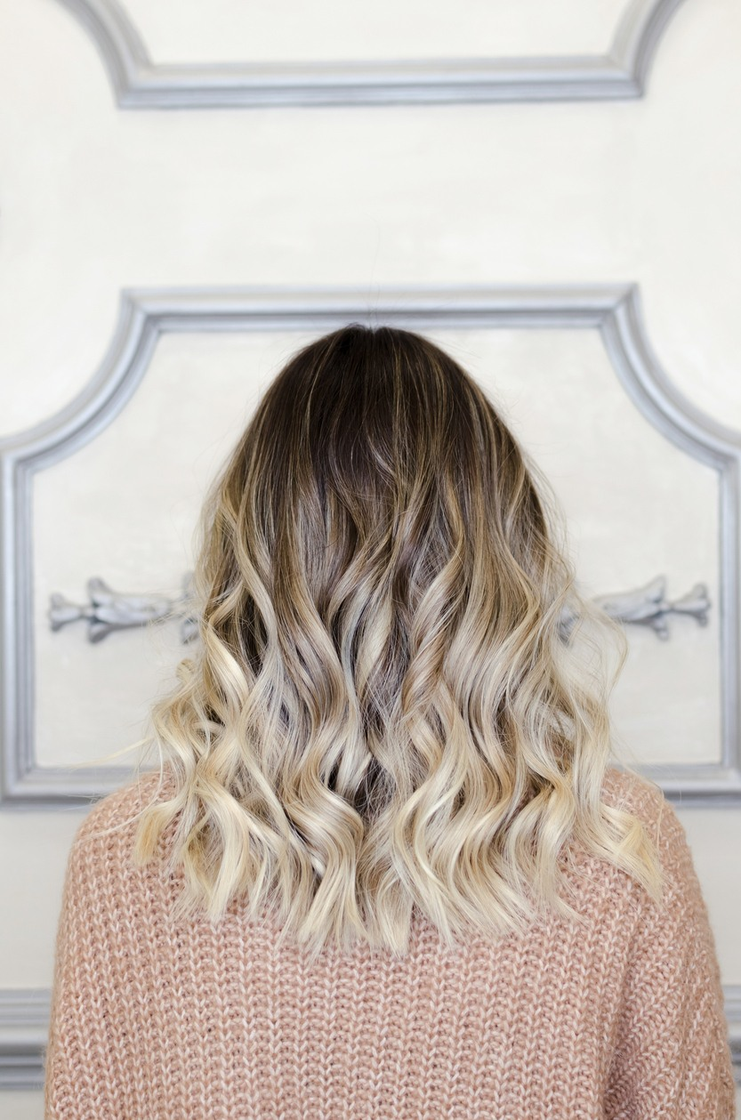 fall hair colors ombre