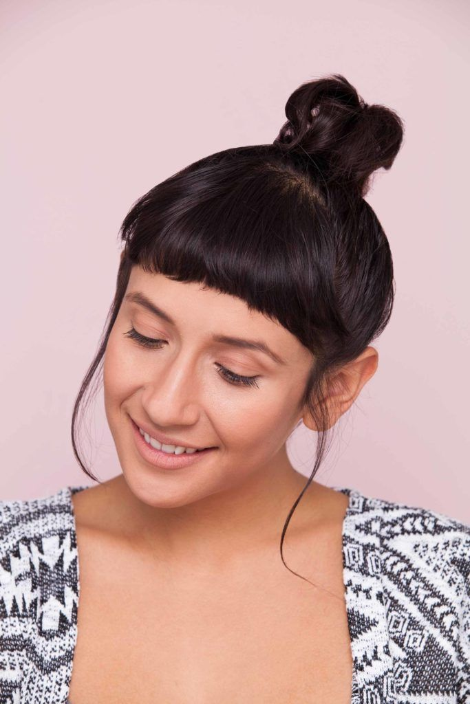 12 Knot Bun Hairstyles For Every Hair Length From Pixie To Long