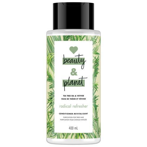 LOVE BEAUTY AND PLANET RADICAL REFRESHER TEA TREE OIL & VETIVER CONDITIONER