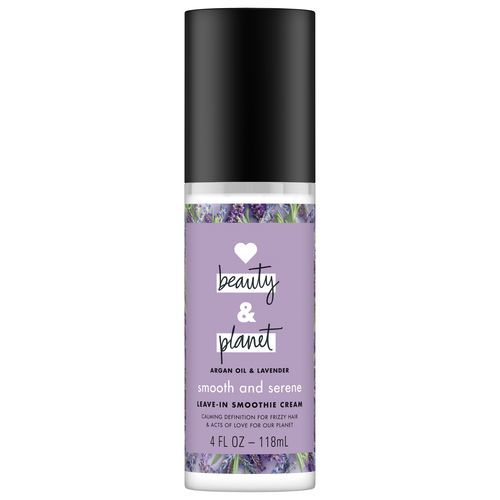 LOVE BEAUTY AND PLANET SMOOTH AND SERENE ARGAN OIL & LAVENDER LEAVE-IN SMOOTHIE CREAM