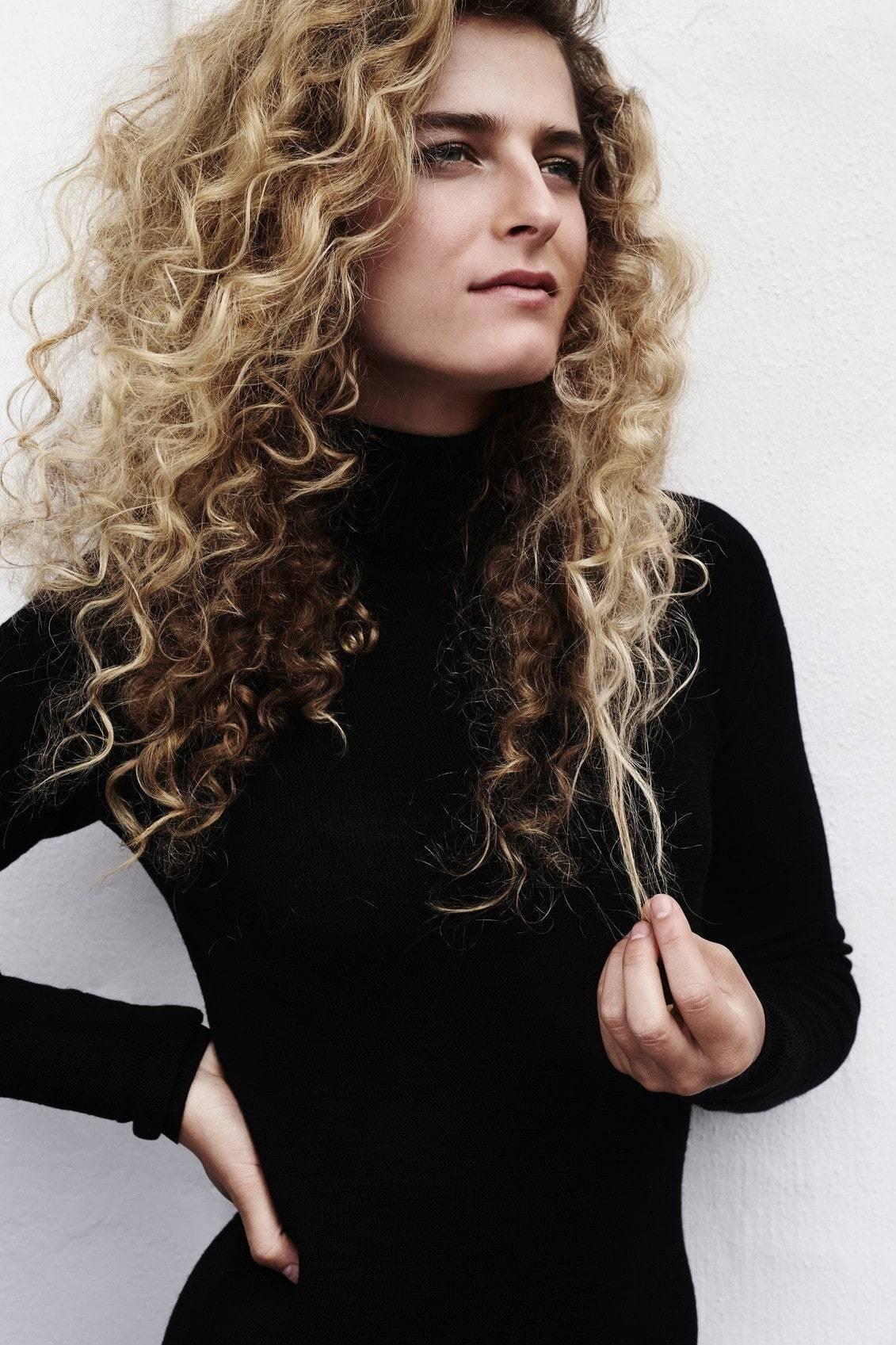 volumizing hairspray curly hair