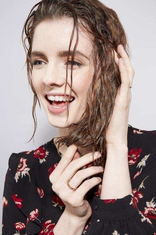 how to blow dry hair straight foundation