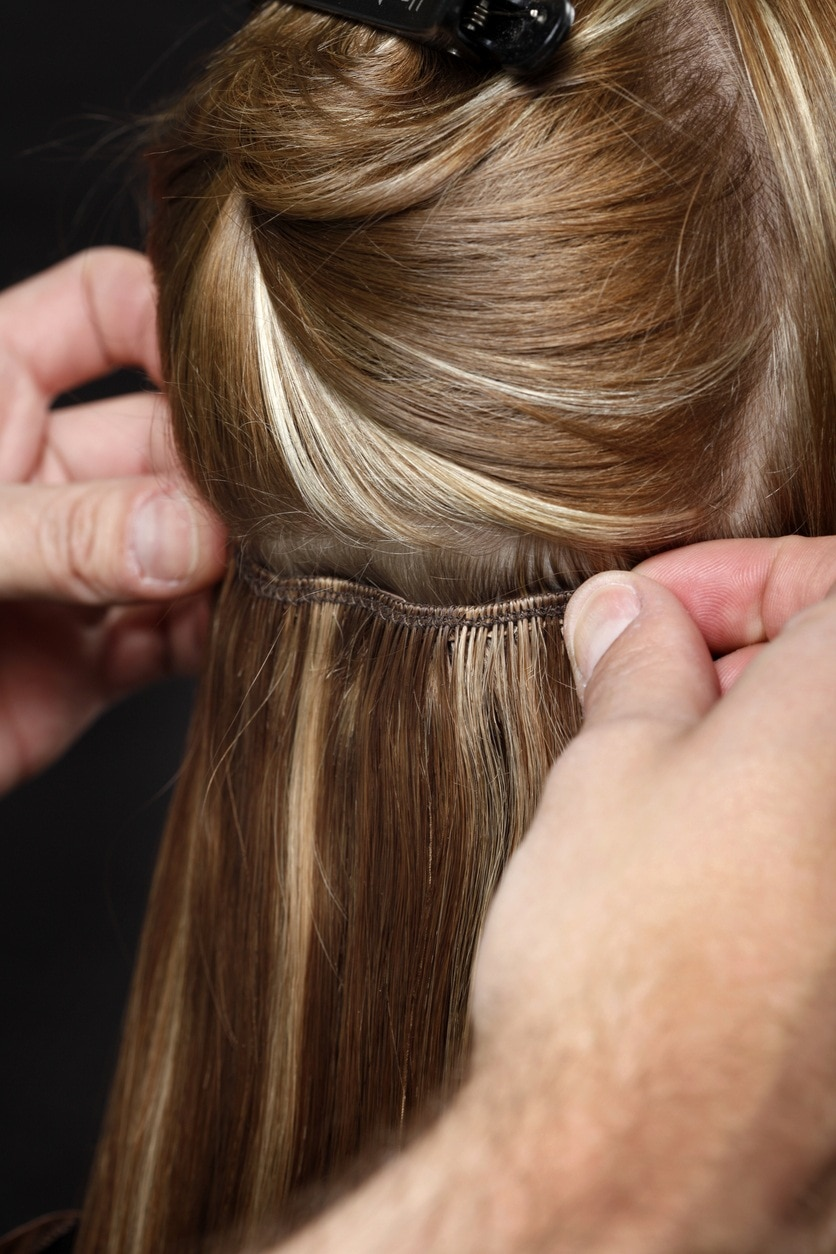 how to take care of clip in extensions