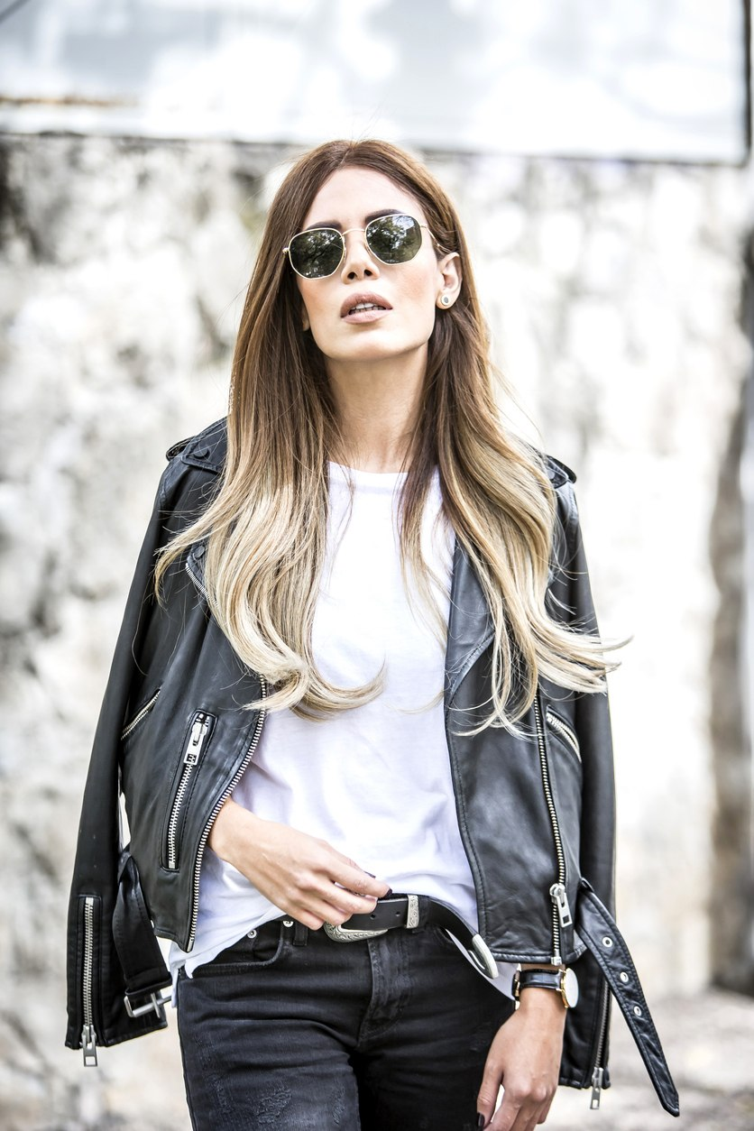 city style bold ombre
