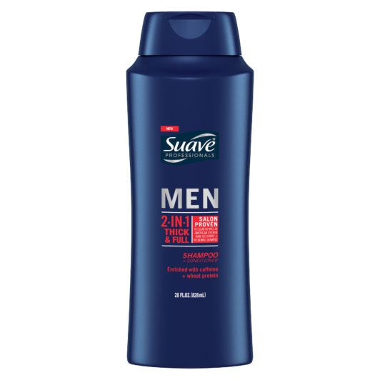 SUAVE MEN THICK + FULL 2-IN-1 SHAMPOO + CONDITIONER