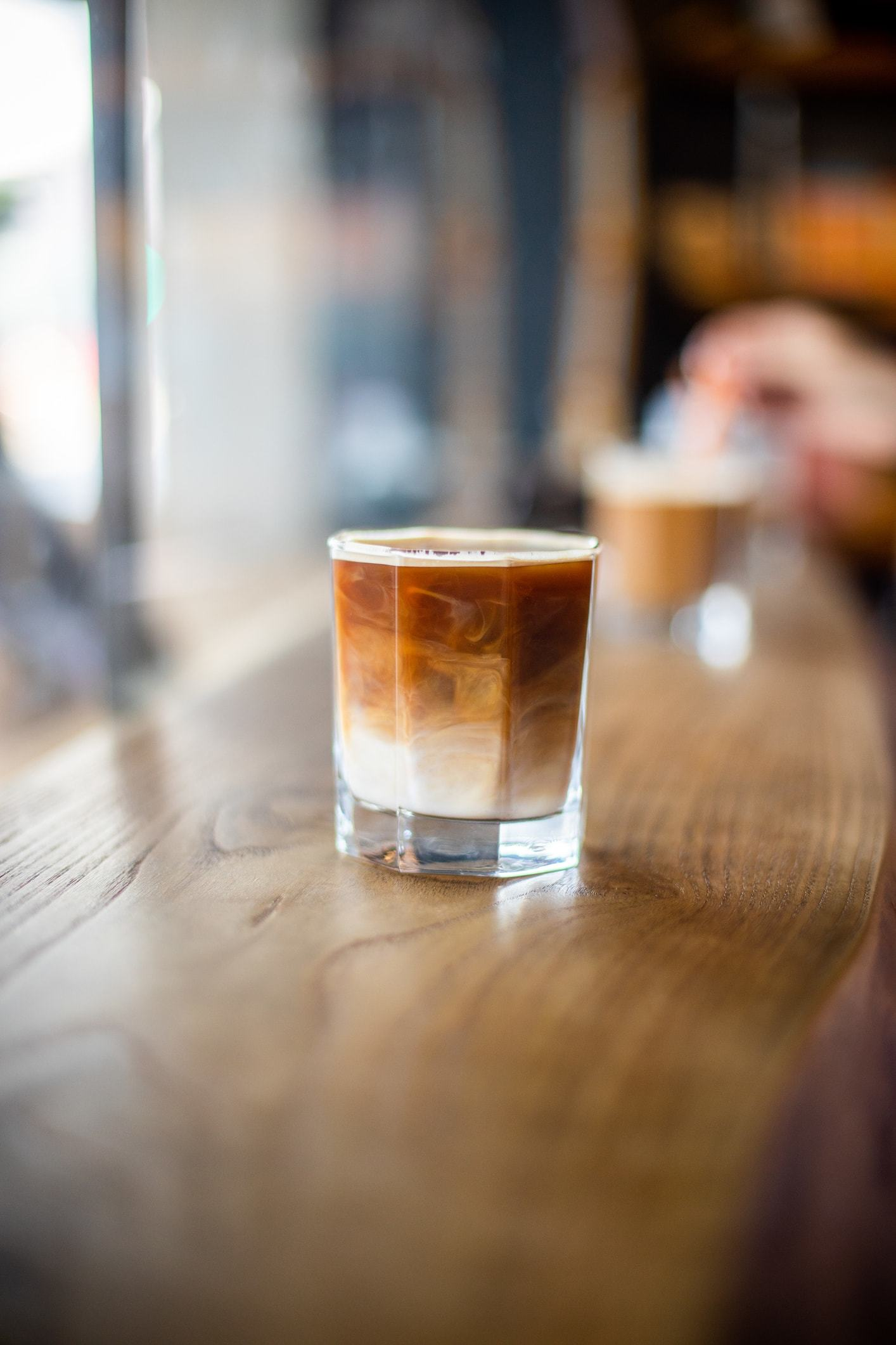 cold brew hair iced coffee