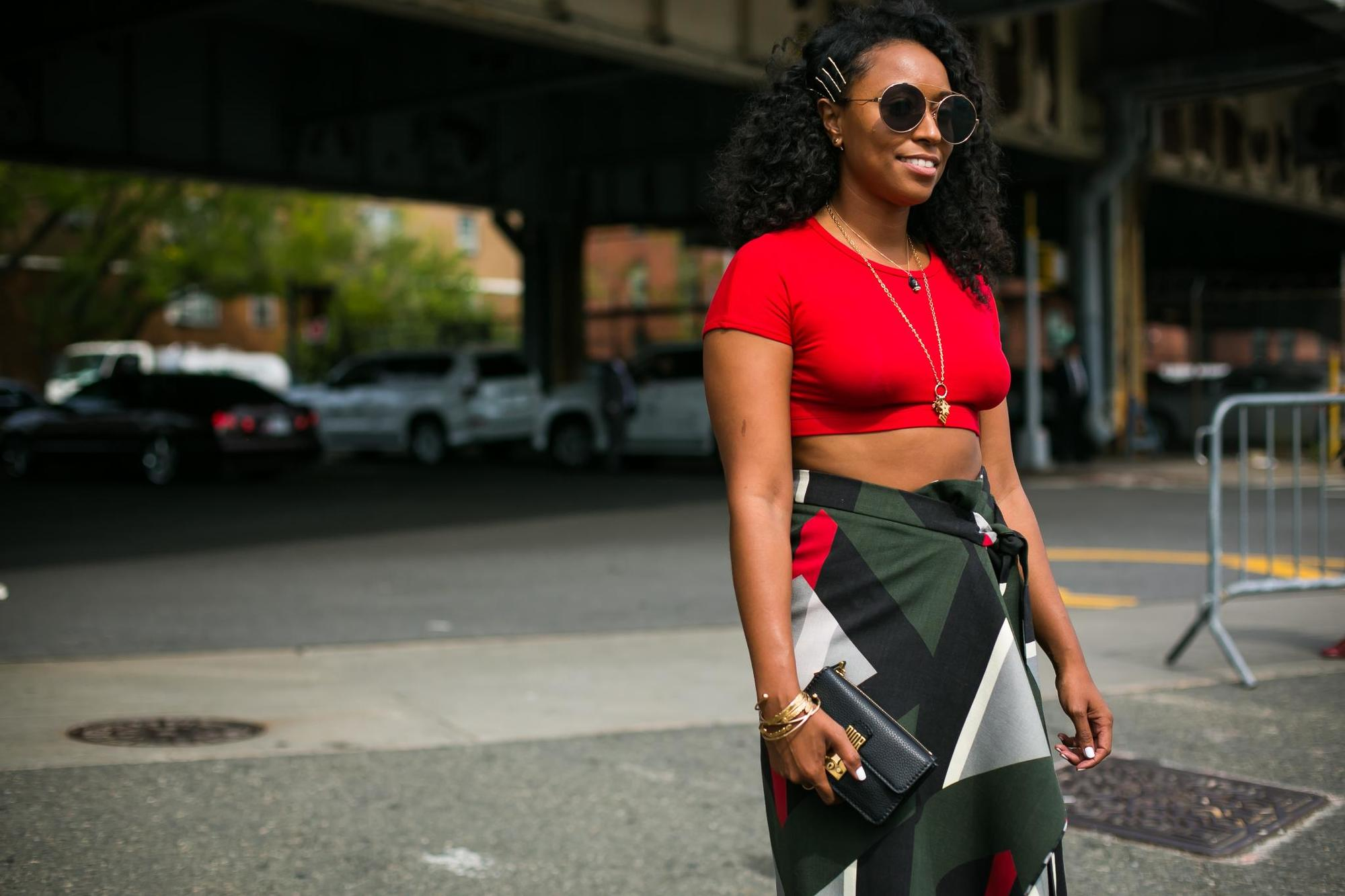 street style hair trend forecast: pinned up curls