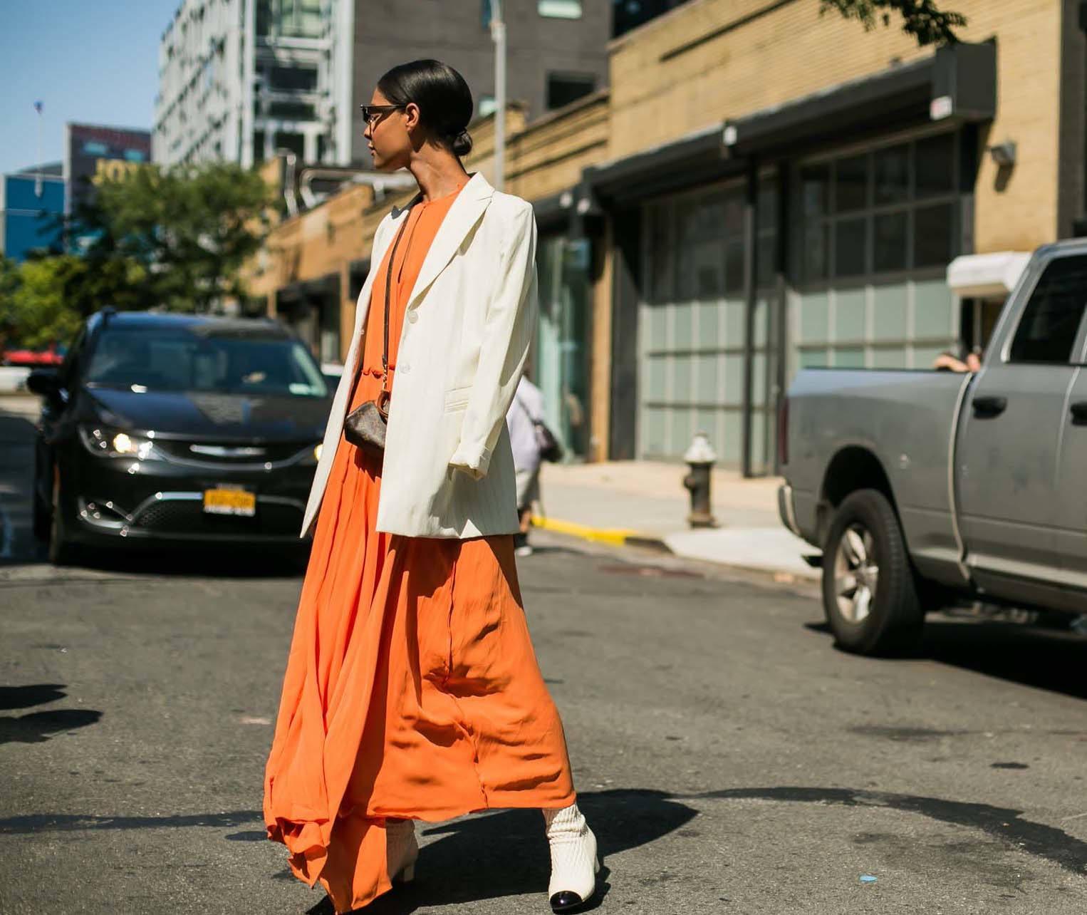 street style trend forecast: shiny hair