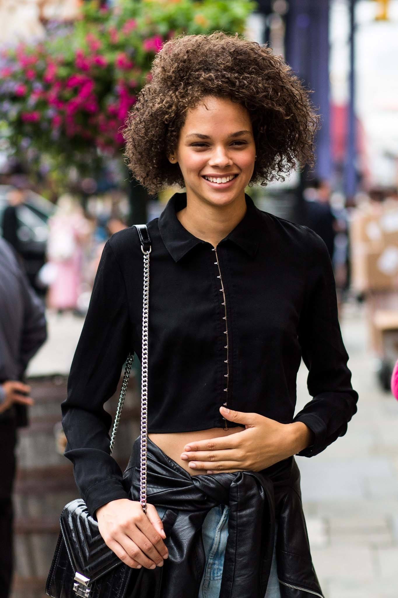 afro hair inspo: wash and go curls