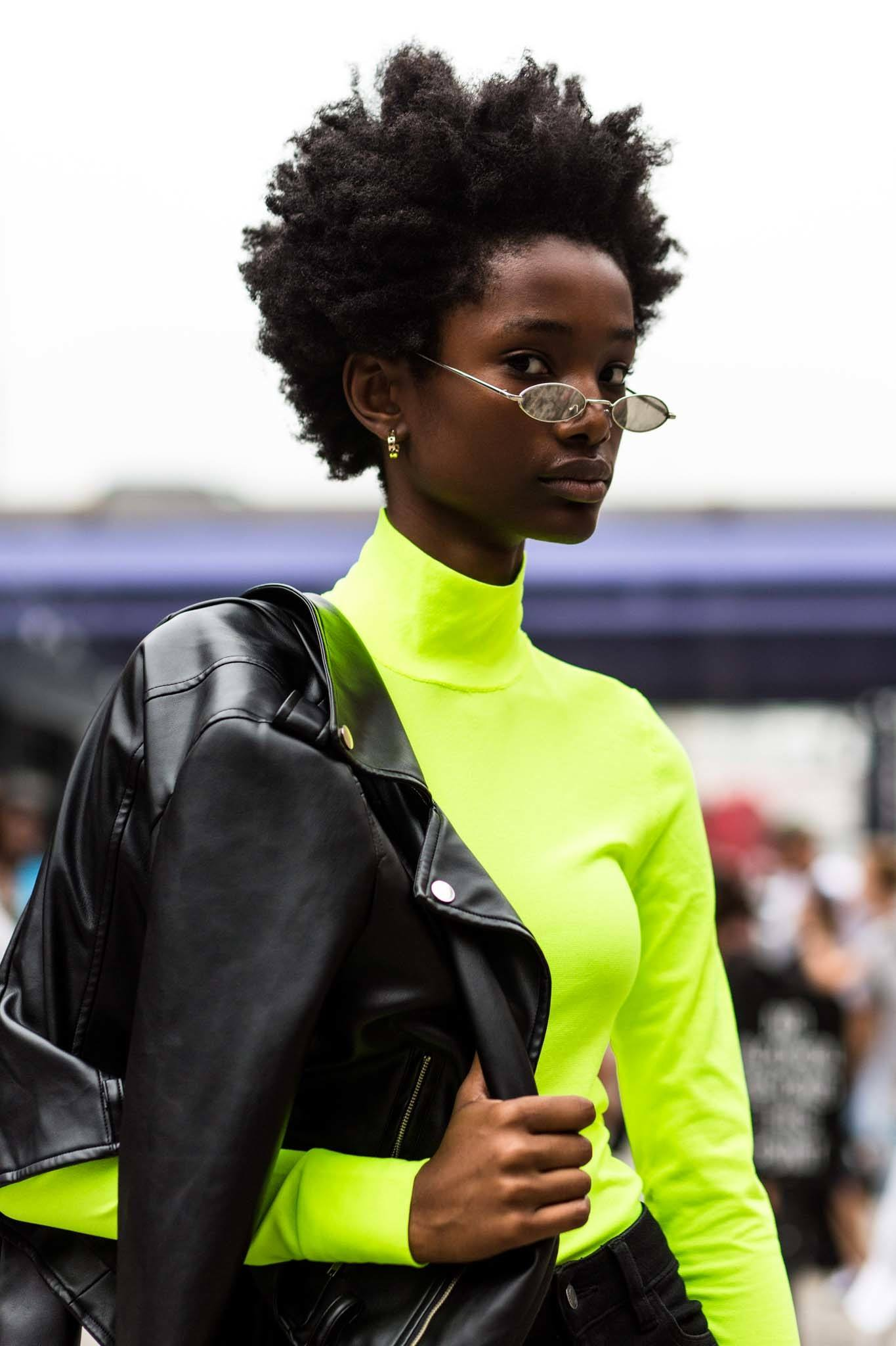 afro hair inspo: edgy afro