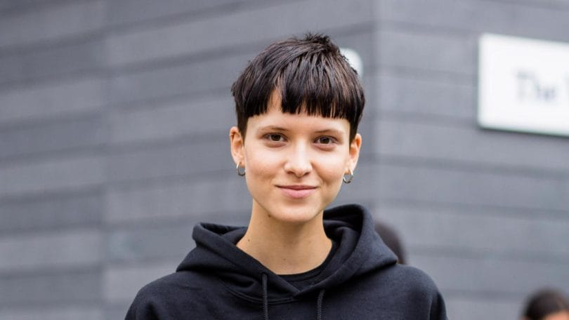 cool cuts: blunt bangs