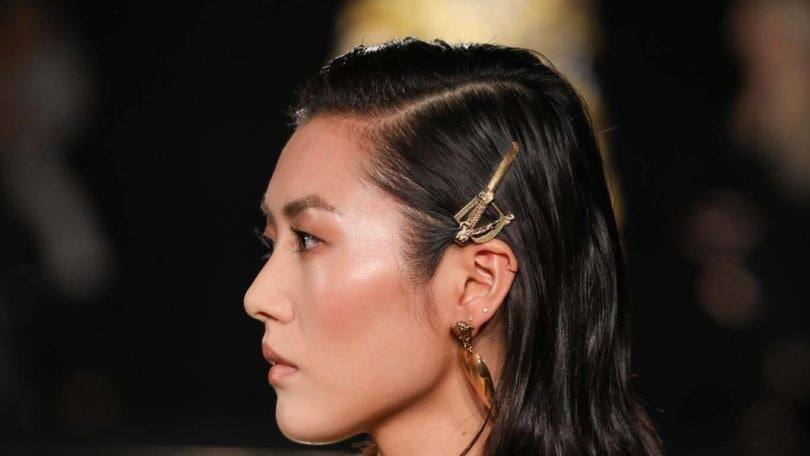 Goldtone Bobby Pins Are In Heres The Best Way To Wear Them