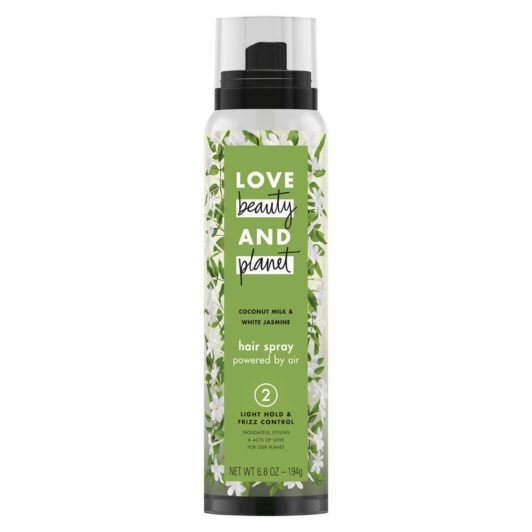 LOVE BEAUTY AND PLANET SOFT HOLD & SHINE COCONUT MILK & WHITE JASMINE HAIR SPRAY