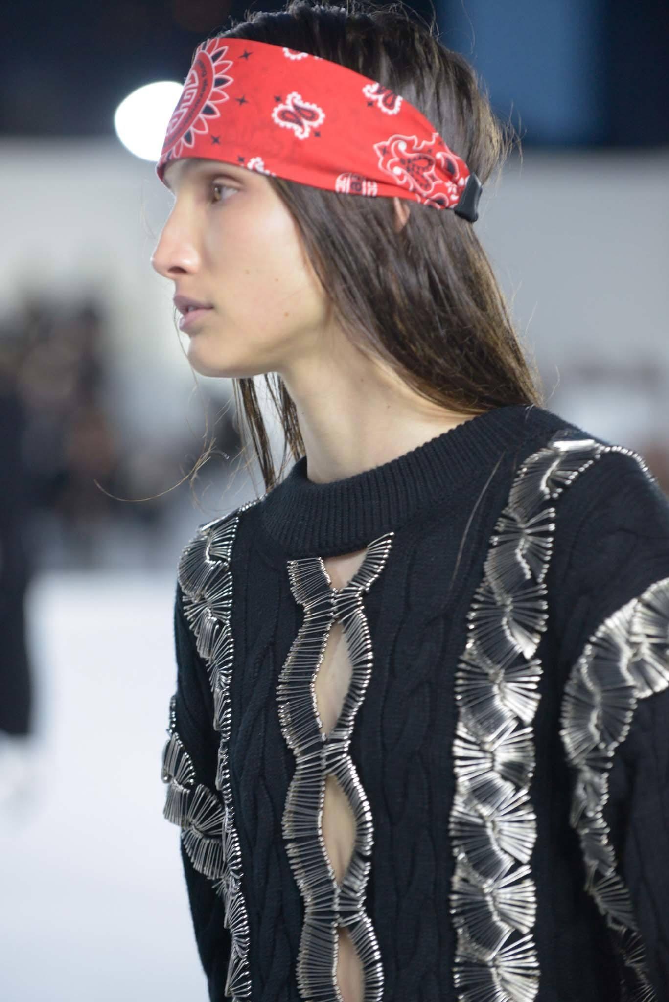 big game hairstyles: bandana