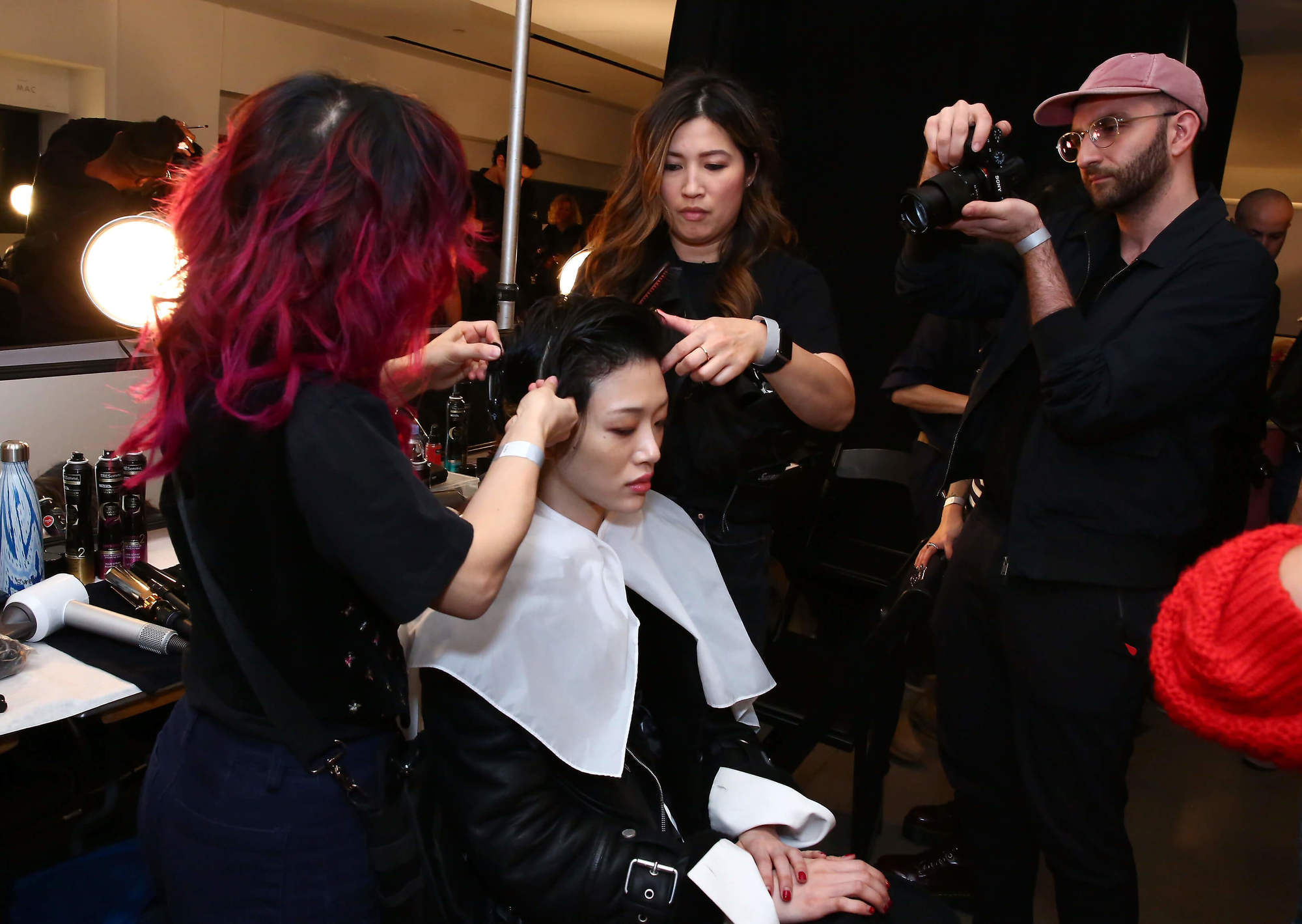 relaxed nomad prabal gurung fw19 blowdry