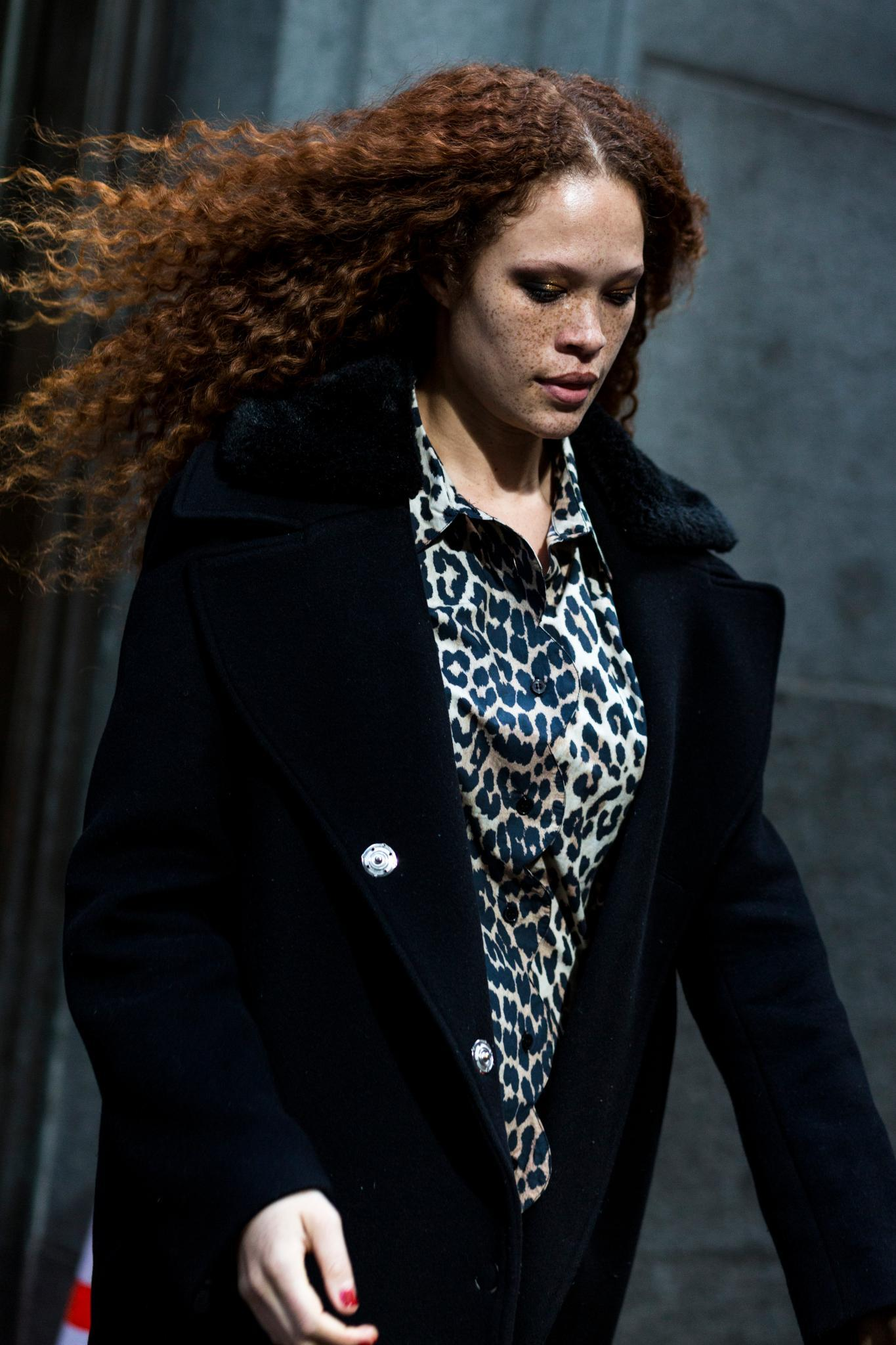 street style round up auburn hair