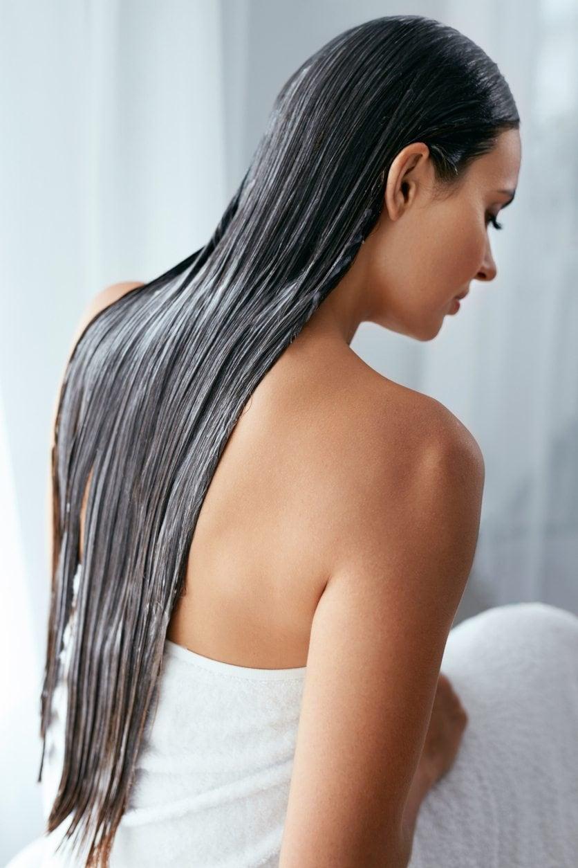 masking your hair: long hair mask