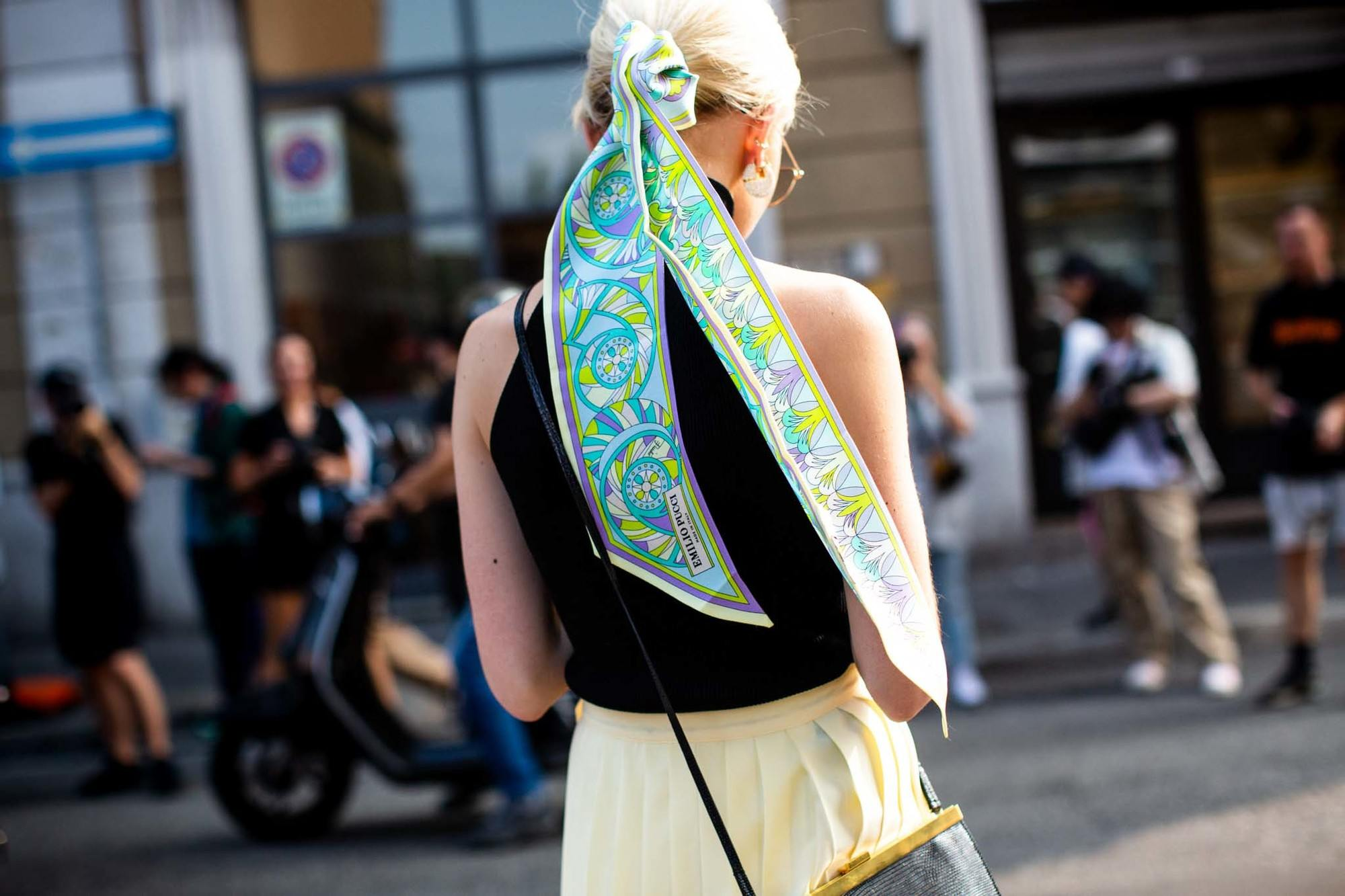fresh spring accessories: ponytail