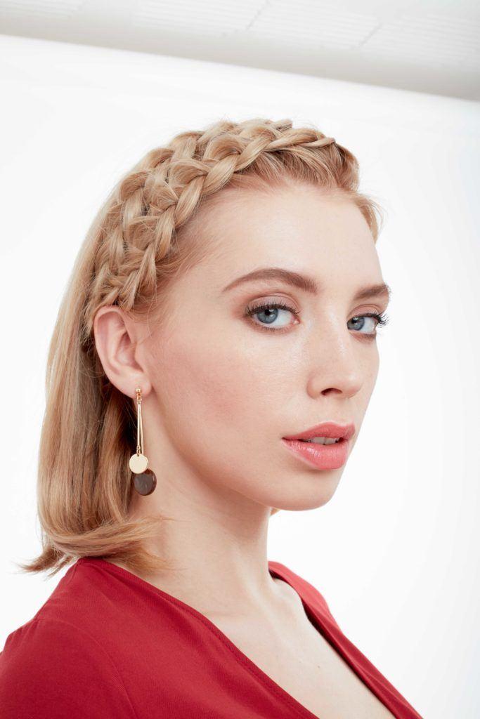 7 days of short hairstyles double dutch braid