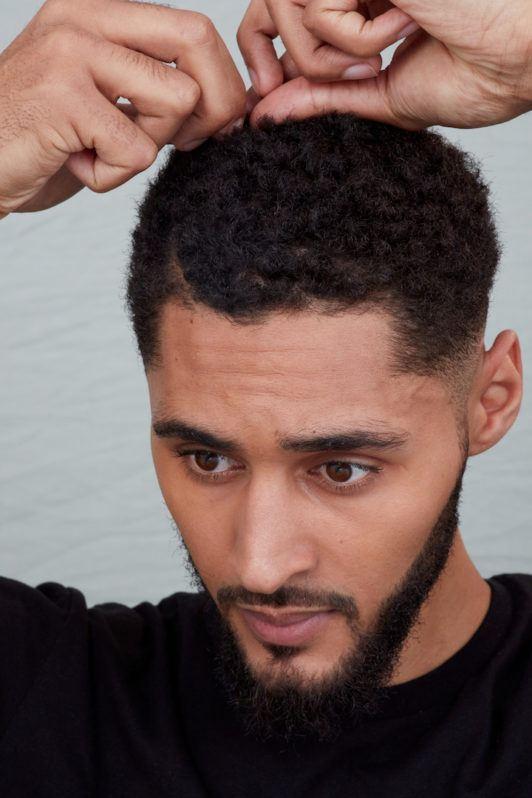 Sponge Curls An Easy Tutorial For Men With Short Hair