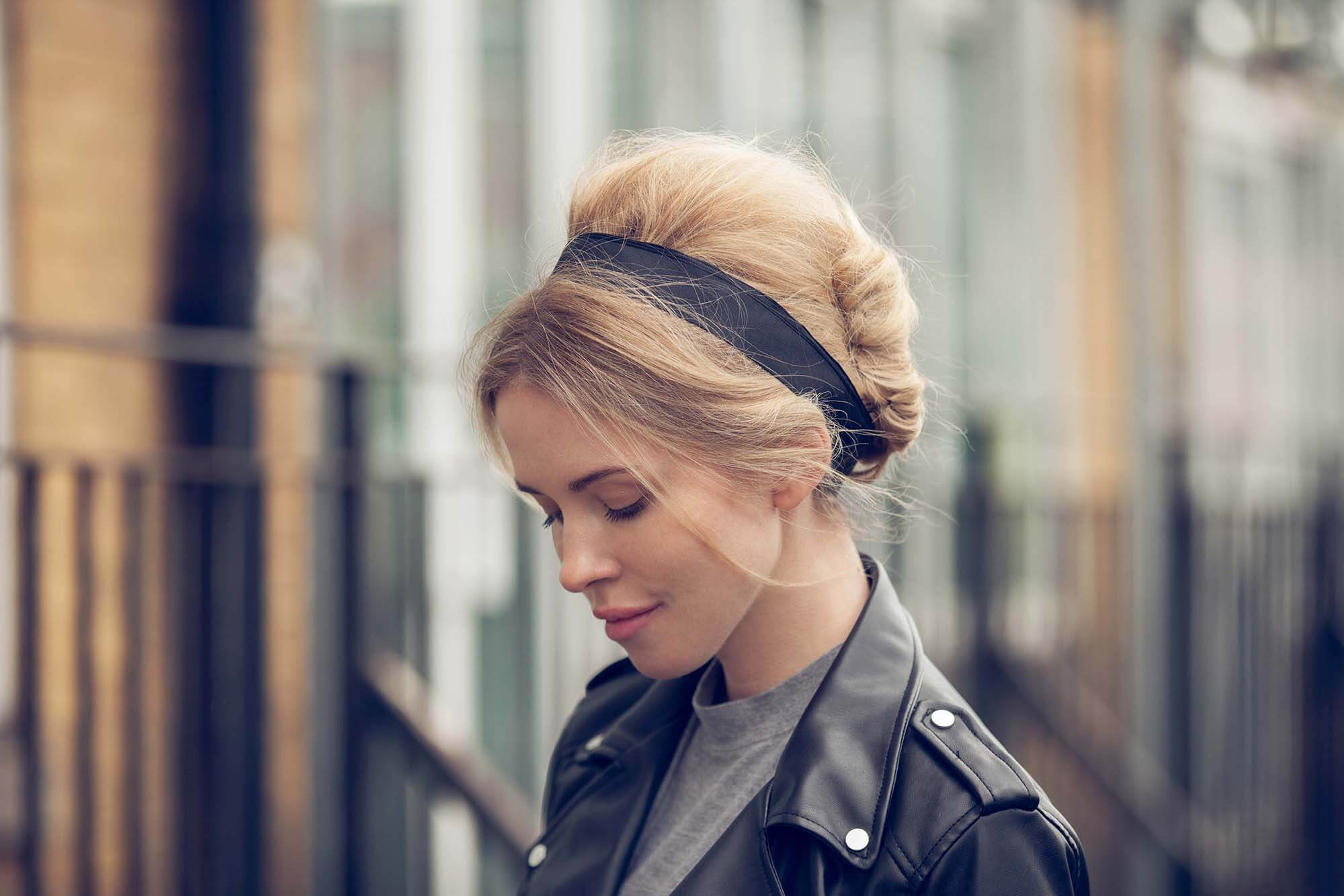 60s beehive french twist