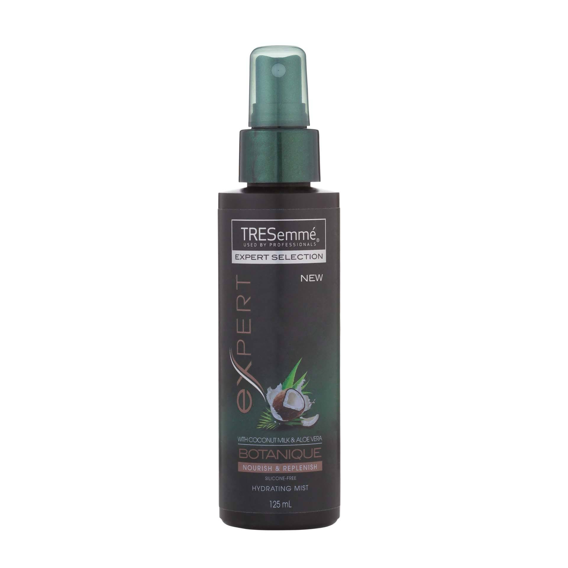 Hair curling products Tresemme Hydrating Mist