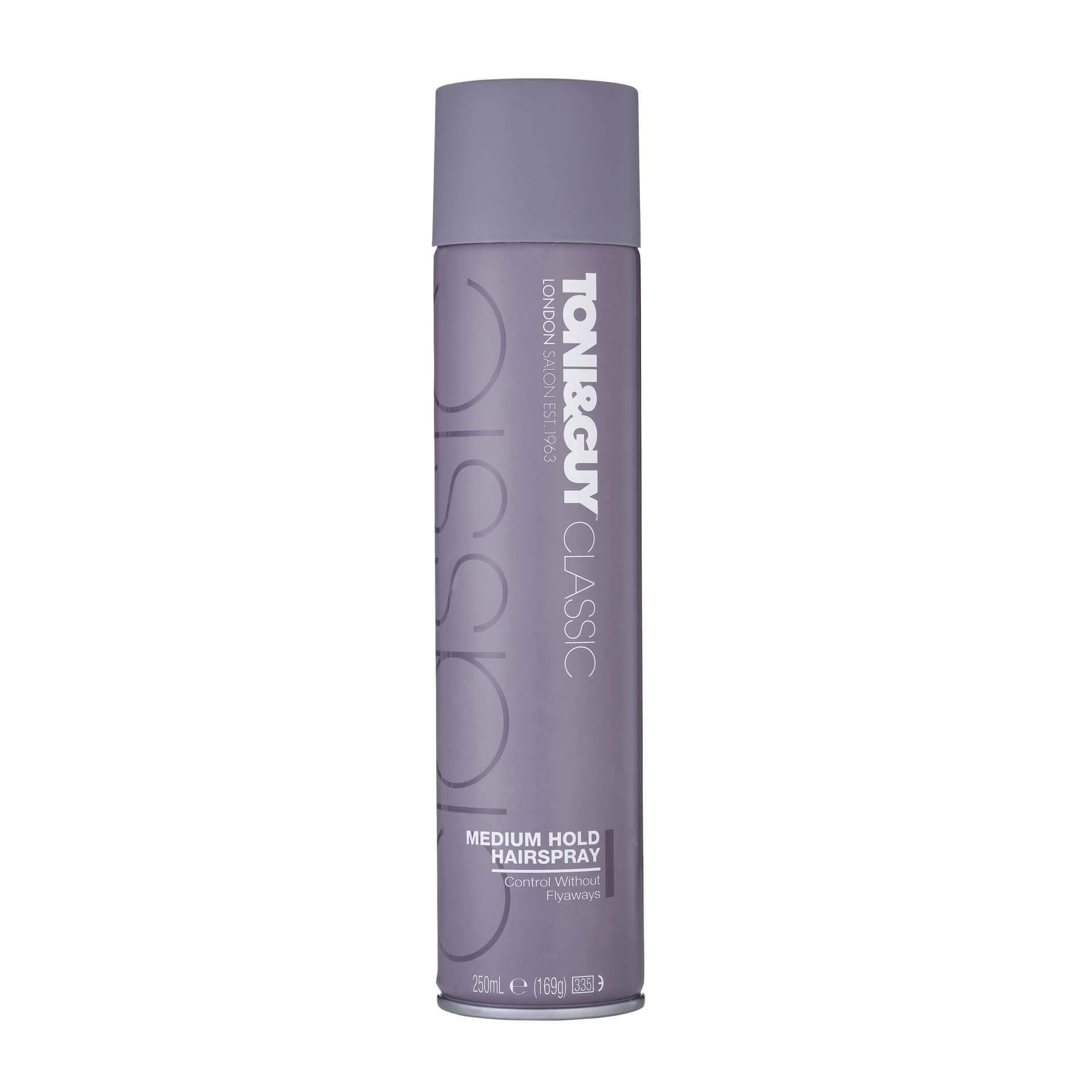 Toni & Guy classic medium hold hairspray