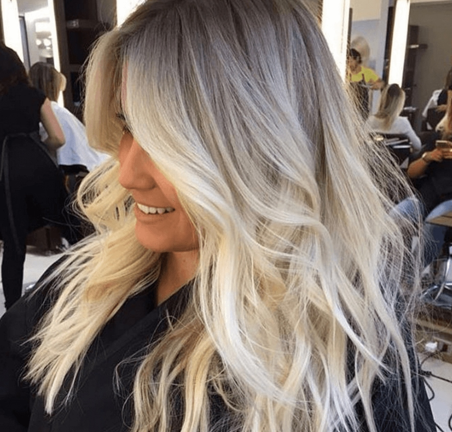 Ash highlights on black hair the best black hair 2017 15 ash blonde hair colours to inspire your 2017 summer look pmusecretfo Choice Image