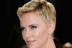 pixie hairstyles Charlize Theron