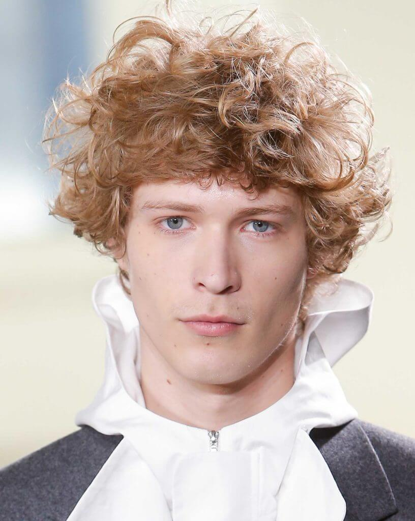 curly hair men- our fave styles & how to work them for your face