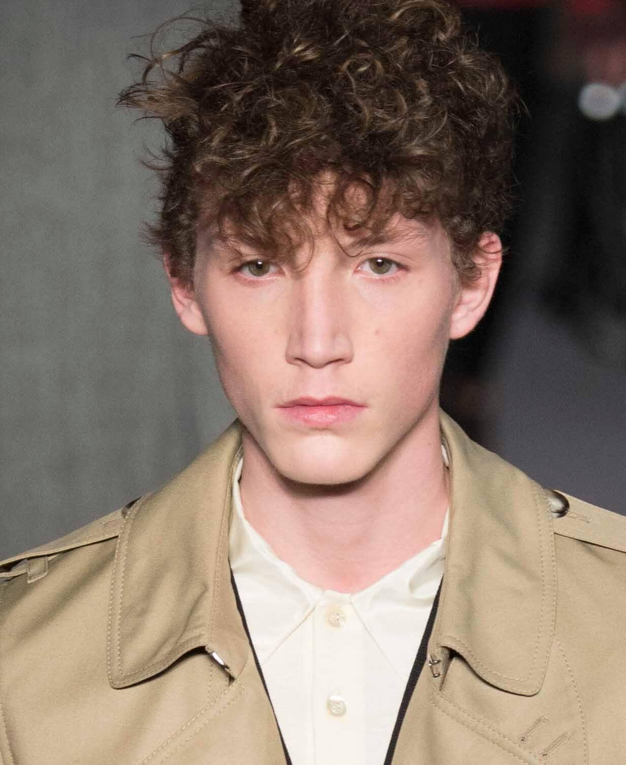 easy medium hairstyles for men curly on top