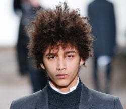 Cool curly haired man: new hairstyles for men to try