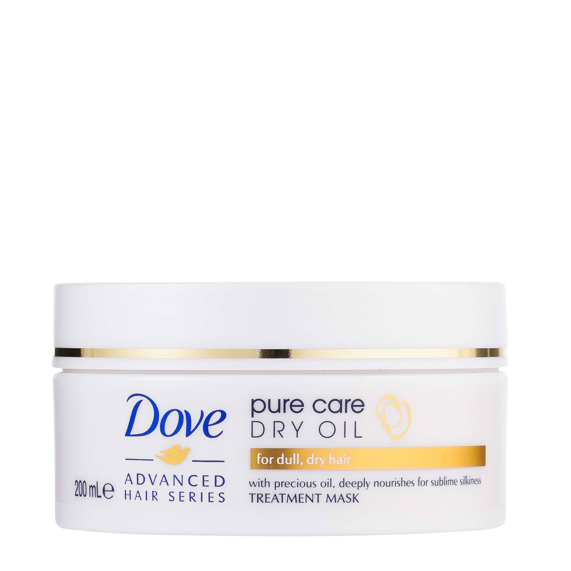 Dove Care Dry Oil hair mask for dry hair